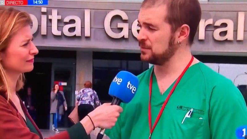 Enfermero de Podemos